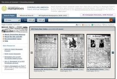 The Library of Congress Chronicling America site is now in excess of 8 million online searchable newspaper pages - available for newspapers ...