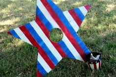 Patriotic Bean Bag Toss for 4th of July
