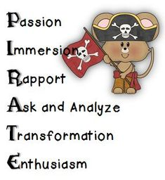Math Coach's Corner: Come Aboard, Mateys, to Book Study Mondays! Are ye ready for another series of Book Study Mondays? Teach Like a Pirate by Dave Burgess will transform your classroom! 3rd Grade Classroom, Classroom Themes, School Classroom, Beginning Of School, First Day Of School, Teaching Resources, Teaching Math, Teaching Ideas, Teach Like A Pirate