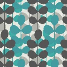 56 sq. ft. Teal Multicolored Modern Large Scale Leaf Stripe Wallpaper-WC1282618 at The Home Depot