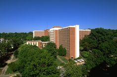 UGA's Russell Hall, one of the freshman dorms