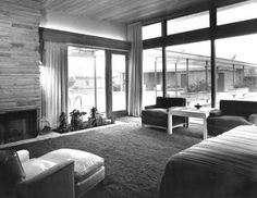 FRANK SINATRA'S HOUSE:  living room