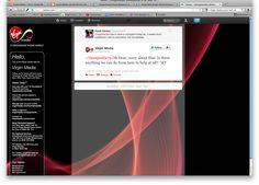 Virgin Media responding immediately to customers on Twitter. @virginmedia Virgin Media, Ads, Twitter