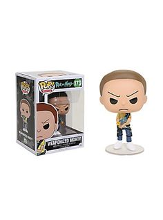 Funko Rick And Morty Pop! Animation Weaponized Morty Vinyl Figure,