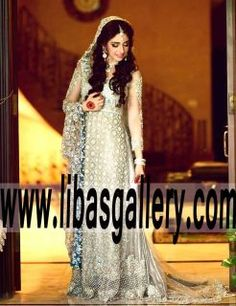 Glamorous Bridal Wear A line Chapel Train Outfit for Wedding Ceremony and Functions - See more at: http://www.libasgallery.com/products/Glamorous%20Bridal%20Wear%20A%20line%20Chapel%20Train%20Outfit%20for%20Wedding%20Ceremony%20and%20Functions.htm#sthash.w0vM02VN.dpuf  UK USA Canada Australia Saudi Arabia Norway Sweden New Zealand Austria Switzerland Germany Denmark France Ireland Mauritius and Netherlands .Court Train Wedding Dress what a modern way to show up in your wedding day like this!