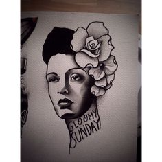 Just checking some old designs… Found this billie holiday design i still would love to tattoo ! BERLIN Booking : semtexutopie@googlemail.com #berlin #tattoo #tattoos #ink #inked #tätowierung #darkartists #tätowierungen #body #tattooinspiration #tattoodesigns #germantattooers #berlintattoo #btattoing #flash #flashworkers #tattooflash #inkstagram #trueblue #prenzlauerbergtattoo #goodstuff #billieholiday