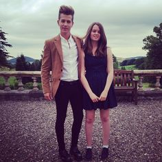 James and his sister