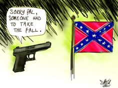 Partners In Crime. All eyes are on the Confederate flag, but let's not forget what enabled Roof to turn his ideology into death with such efficiency.