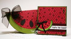 Watermelon Slice Set Project created using products and the Slice Template from www.mytimemadeeasy.com