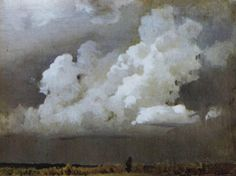 Before the storm, 1890 Isaac Levitan
