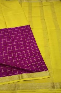 Details Mysore silk saree are world renowned saree. Karnataka, silk is mainly produced in the... Crepe Silk Sarees, Silk Dupatta, Silk Crepe, Pink Fabric, Woven Fabric, Mysore Silk Saree, Karnataka, Color Schemes, Pure Products