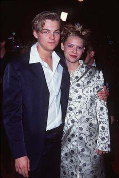 Leonardo DiCaprio & Claire Danes at the Romeo + Juliet premiere, October 27, 1996