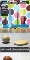 Polymer Clay Pancake Tutorial by *chat-noir on deviantART American Girl Food, Tutorial Sites, Polymer Clay, Clay Clay, Dollhouse Tutorials, Clay Food, Mini Foods, Clay Tutorials, Cold Porcelain