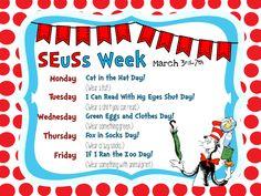 Smithville Elementary Library: Happy Birthday, Dr. Seuss