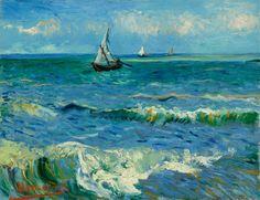 Vincent van Gogh (1853-1890), The Sea at Les Saintes-Maries-de-la-Mer