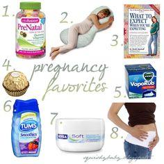 My Squishy Baby: Pregnancy favorites