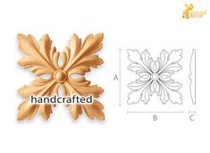 Architectural carved wood rosettes for cabinet doors Filagree Tattoo, Wood Rosettes, Newel Post Caps, Wooden Trim, Wood Carving Designs, Carving Wood, Jewelry Design Drawing, Classic Interior, Acanthus