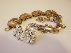 j.crew bracelet and earrings