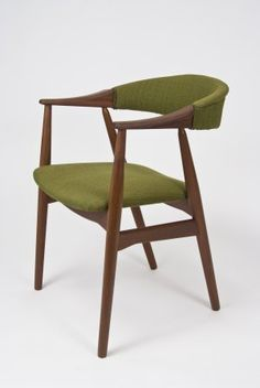 Farstrup danish chair in teak [mid century modern vintage mad men dansk design]