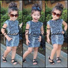 Kids' fashion. Kawaii! :D