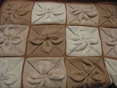 Knitted Leaf Baby Blanket