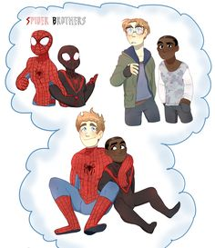 M... peter and miles