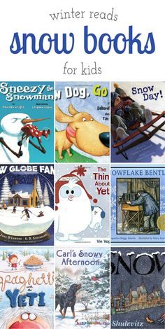 Winter is the perfect season for snuggling up with your child, a mug of cocoa, a warm blanket, and a fabulous snow book. Fun for readers of all ages! via @https://www.pinterest.com/fireflymudpie/
