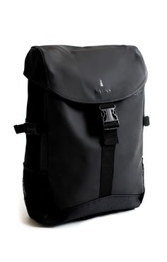 The RAINS Runner Laptop Backpack is a stylish and modern approach to the waterproof backpack scene. Like almost all RAINS products, the Runner Laptop Rains Backpack, Men's Backpack, Black Backpack, Arkk Copenhagen, Hipster Bag, Bag Quotes, Shops, Waterproof Backpack, Best Bags