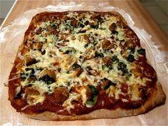 Recipe: Meatball & mushroom pizza in 30 minutes!