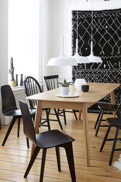 Une salle à manger style scandinave, La Redoute Intérieurs - Marie Claire Maison
