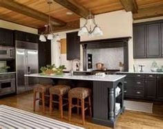pine ceiling kitchens - Bing Images