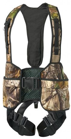 A very nice tree stand safety harness