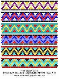 free peyote patterns - Google Search