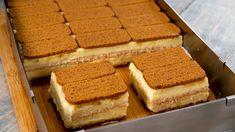 "No-Bake Chocolate Biscuit Cake Recipe ""Masterpiece"" Chocolate Biscuit Cake, Romanian Desserts, Tv Chefs, Custard Cake, Bakery Recipes, Eclairs, Food Cakes, Love Cake, Kakao"