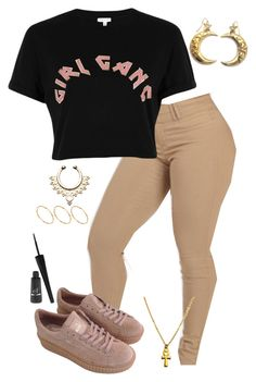 """""""Best Of Me - Deetranada"""" by tacoxlinga ❤ liked on Polyvore featuring River Island, Zara Taylor, ASOS and e.l.f."""