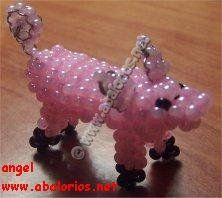 This site has lots of free beading patterns for animals/  Some are flat while some are 3D