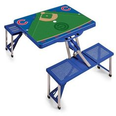 Chicago Cubs Portable Folding Tailgate Picnic Table