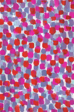 Pink/blue - Sarah Bagshaw Surface Pattern, Pattern Art, Pattern Design, Textile Prints, Textile Patterns, Textiles, Painted Rug, Pretty Patterns, Pattern Illustration
