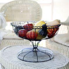 Wrought Iron Centerpiece Basket.