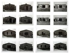 A typology of abandoned barracks. Photography by Thomas Kellner.