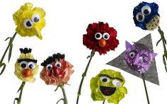 """Sesame Street"" Carnations — Carol Caggiano, AIFD, PFCI"