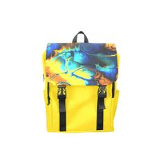 gorgeous Fractal 171 Casual Shoulders Backpack (Model 1623) (€33) ❤ liked on Polyvore featuring bags and backpacks