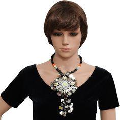 Sea Shell Designer Necklace for Chaniya Choli @Just Rs.310 + Free Shipping…