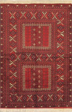 Hand-knotted Finest Khal Mohammadi Light Burgundy Wool Rug