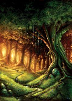 ... Fairies and elves ...: El Bosque Mágico