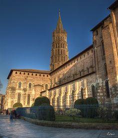 cathédrale Saint-Sernin à Toulouse
