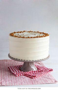 Eggnog cake.