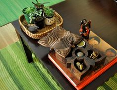 Some beautiful artifacts to acceccorise your home in the traditional Indian style.