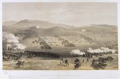 'Charge of the Light Cavalry Brigade, 25th October 1854 ', by William Simpson, 1854 (lithograph). William Simpson (1823-99) was a Scottish painter who became noted for his depictions of the Crimean War (1853-6)