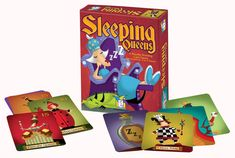Gamewright : Sleeping Queens™ Riley loves this game, and I love playing it with her.